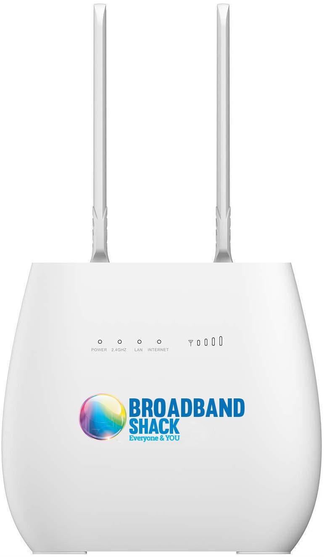Broadband shack, Superfast 4G, Rural Broadband