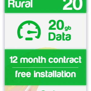 4G Super Rural Broadband with Broadband shack