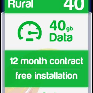 Super Rural Broadband 4G with Broadband shack